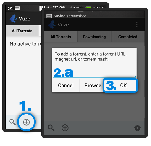 Vuze Torrent Downloader for Android - Open A